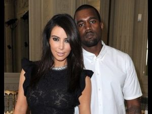 The most famous interracial couple Kim Kardashian and Kanye West