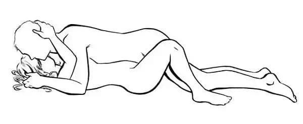 Favourite sex positions for women and for men - missionary position